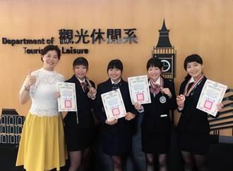 國際青年創意美學競賽 龍華科大4人參賽全數獲獎
