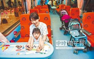 藍委促高鐵台鐵設親子車廂