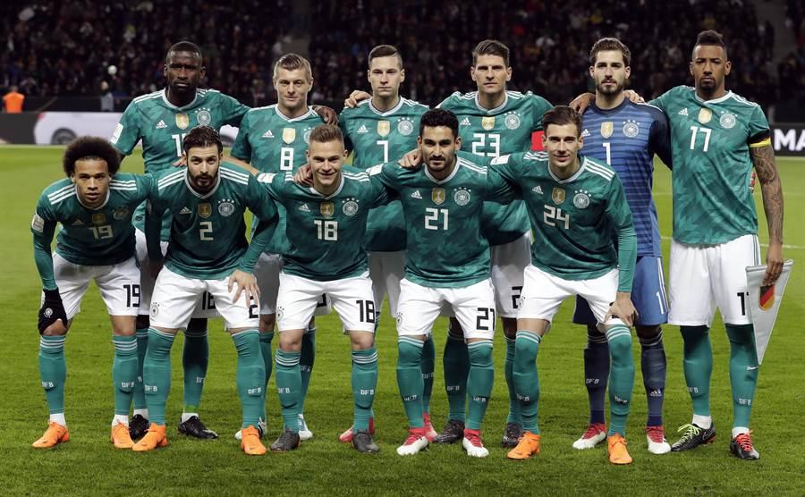 德國隊先發華麗,板凳深度和功能性也傲視各隊。(美聯社資料照)