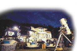 關燈1小時 南投民宿邀遊客體驗觀星