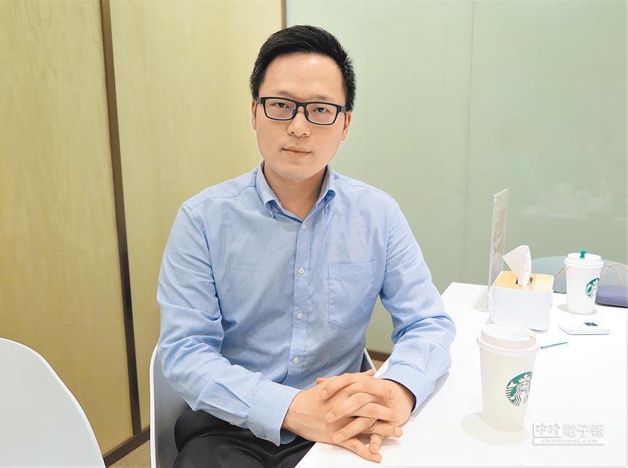北京盈科(上海)律師事務所律師侯智騫。(記者陳政錄攝)