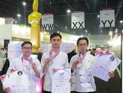 咬牙苦練一年  科大生蔡子敬在極限廚師競賽奪銀牌