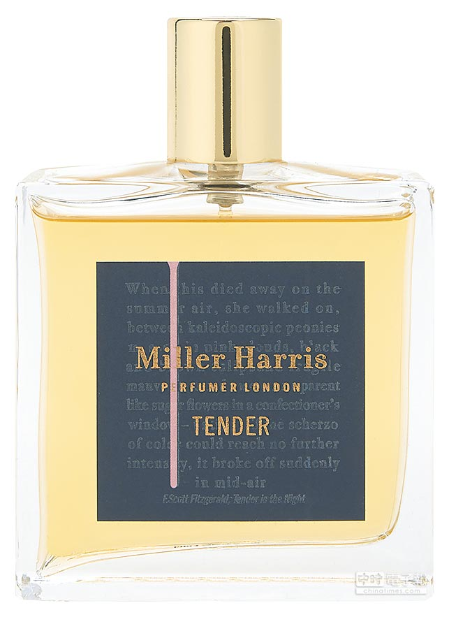 Miller Harris Tender淡香精50ml,4500元。(Miller Harris提供)