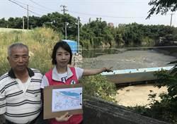 竹市烏瓦窯圳垃圾堆積發惡臭灌溉水質堪慮