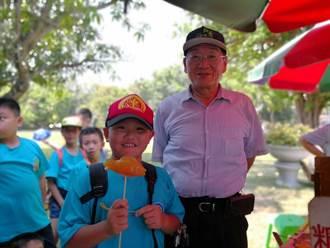 台南三校童鮮體驗 拉糖蔥吹糖人甜蜜滋味