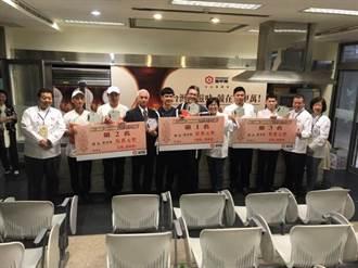 佛大素食系學生獲職業組料理競賽冠軍