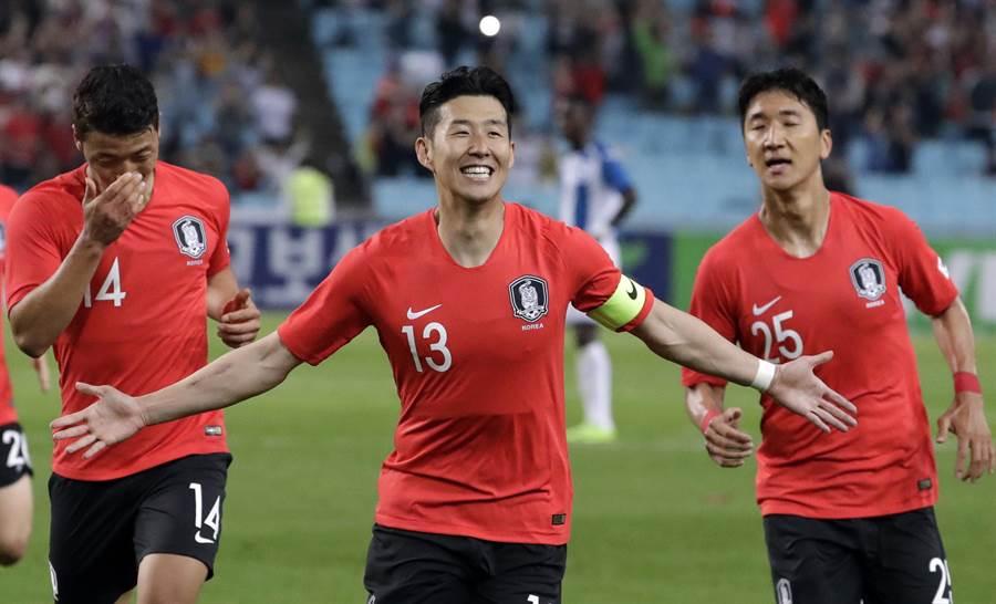 韓國球星孫興慜本季成為在英超進球最多的亞洲球員。(美聯社資料照)