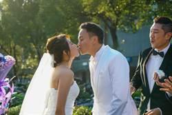 何潤東、楊晴《翻牆》上演浪漫婚禮 張鈞甯插花當伴娘