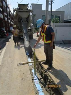 神岡三民路汰換自來水管線 預計年底完工