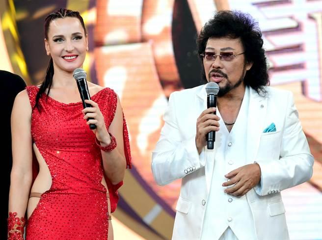 瑪格莉特上張菲節目表演國標舞。