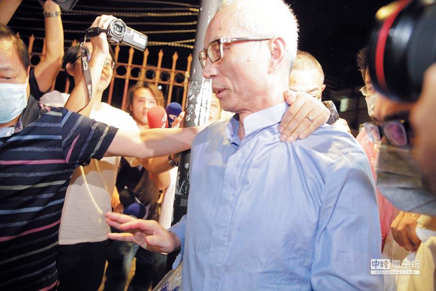 涉炒股的國寶集團總裁朱國榮,以一億元交保。(中時資料照)