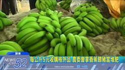 1元香蕉=餵豬格外品? 蕉農:往年美蕉今變飼料