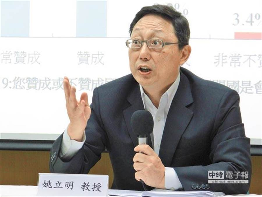 66歲姚立明自爆罹患慢性肺疾,令外界感到吃驚!(中時報系資料照片)