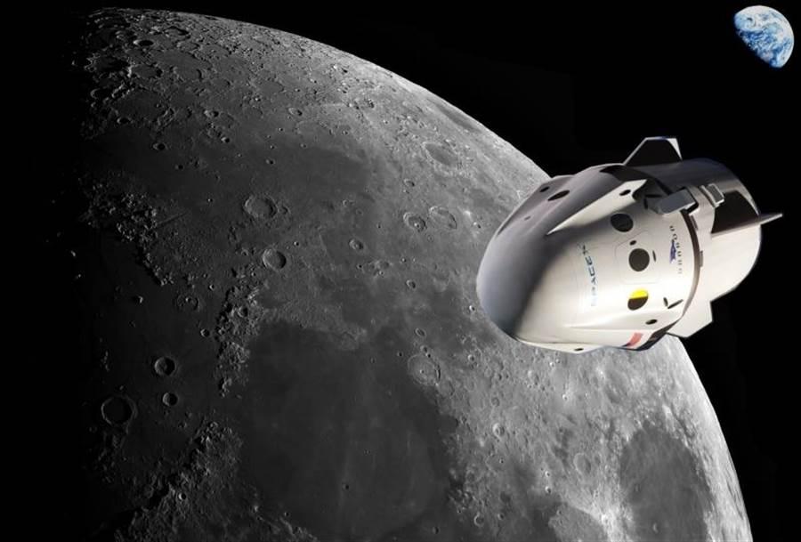SpaceX表示,民間月球旅行必須延期,但他們強調計畫不會取消。(圖/SpaceX)