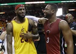 NBA》韋德:左右詹姆斯去留只有一個因素