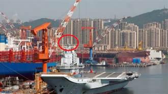 迎雙航母時代!陸遼寧艦拆除重要設備大整修