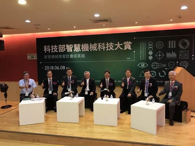 「智慧機械科技大賞-聯合成果發表會」今日在中科管理局舉辦座談會。(圖/曾麗芳)