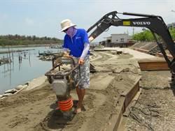 全台首次陸地沙雕下月7日登場 沙雕師揮汗趕工成「沙人」
