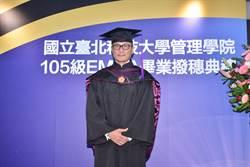 包小柏碩士畢業續攻EMBA博士