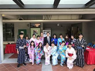 穿浴衣講日文 壽山高中日文實驗班歡迎學弟妹