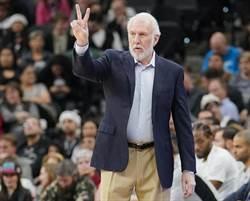 NBA》搶詹皇大黑馬 紐時:馬刺派出帕波維奇