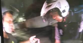 毒蟲騎車逃逸拒檢 警員抱住遭拖行5公尺
