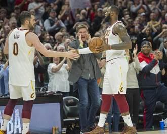 NBA》騎士打包洛夫與首輪籤 全力慰留詹皇