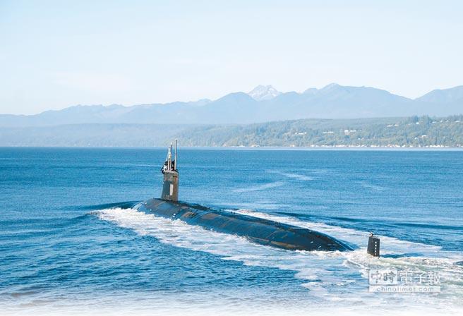 美國海軍俄亥俄級「密西根號」核動力潛艦。(取自美國海軍官網)