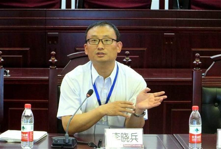 南開大學法學院副教授、台港澳法研究中心執行主任李曉兵。(圖片摘自網路)