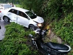 遊泰騎電動車遭追撞 港陸情侶不治身亡