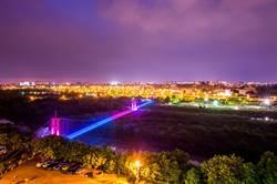 嘉義市10大美景行嘉吊橋失色已久 拚恢復美麗夜景