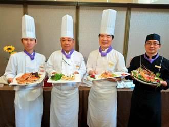 清新溫泉飯店旗下三家餐廳端出花料理搶市