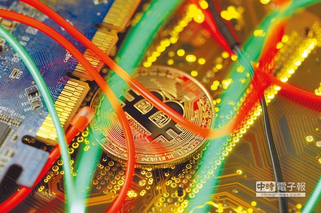 比特幣等加密貨幣交易價格暴漲暴跌。(路透)