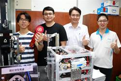 雲嘉南分署青年創客開發球型馬達 車子橫著走不是夢