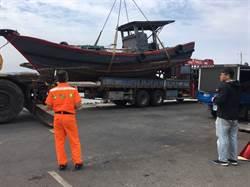 陸船越界金門電魚 2漁民拘役、漁船銷毀