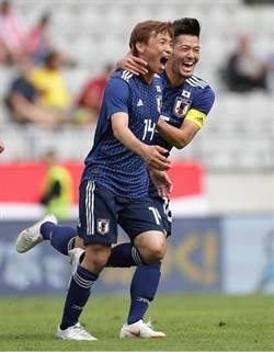 世足》藍武士日本終於醒了 最終熱身賽4比2勝巴拉圭