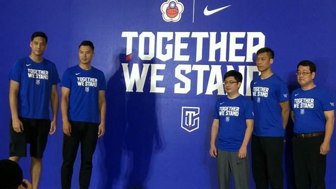 林志傑、田壘與陳信安三大球星號召球迷為中華隊加油打氣。(本報資料照)