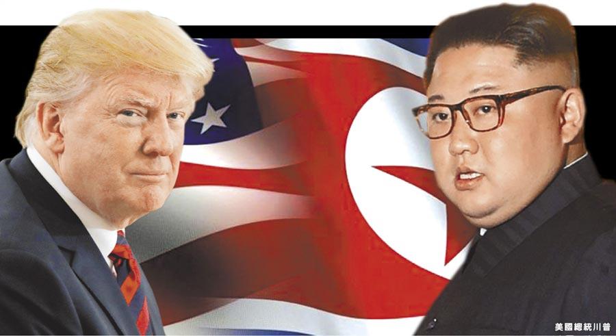 美國總統川普(左,路透)與北韓領導人金正恩(右,法新社)的世紀峰會今日上午9時在新加坡登場,雙方將針對無核化議題過招。