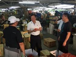 憂蔬果供應量及價格不穩  陳金德視察宜蘭果菜批發市場