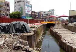 萬年溪整治最後一哩路開工 盼趕上明年台灣燈會