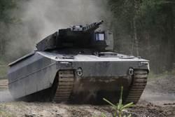 萊茵金屬步兵戰車  具有未來科幻感