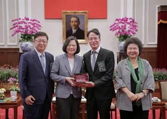 總統接見2018建築園冶獎得主 勉勵營造新台灣價值