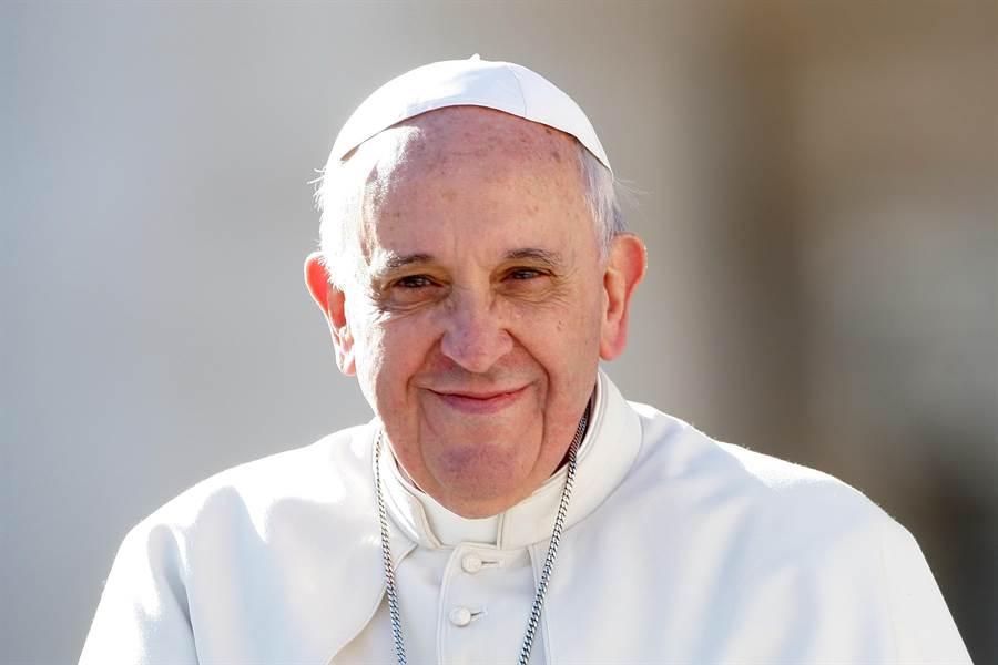 電影首度闡釋教宗對藝術、社會的獨特觀點。(海鵬提供)