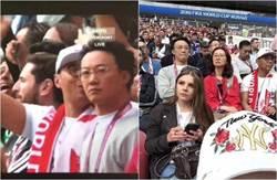 世足花絮》開幕賽畫面一掃 驚現陳奕迅坐VIP位看球