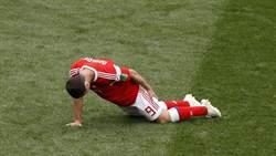 世足人物》俄國中場大將札戈耶夫受傷 恐退出本屆賽事