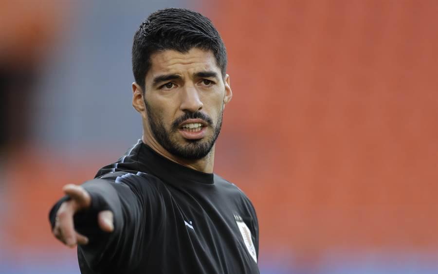 烏拉圭教頭塔巴雷斯強調,該隊前鋒蘇亞雷斯現在已經成熟很多。(美聯社)