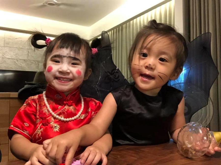 咘咘和MIA是好姊妹。(圖/FB@方志友)