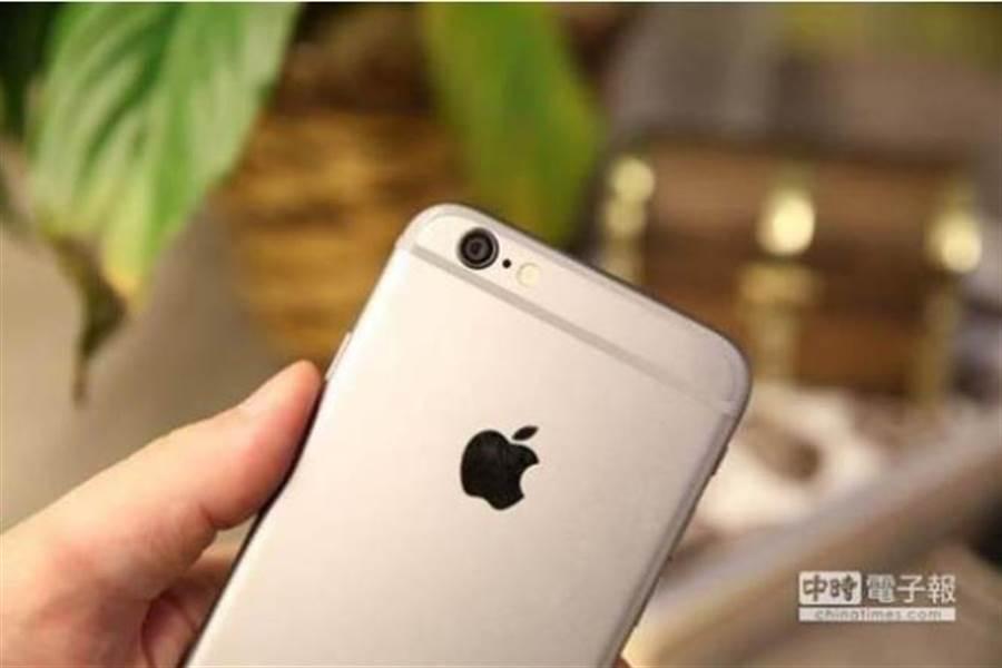 圖為iPhone手機。(本報系資料照片)