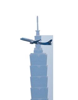 陸施壓更名 美3大航空公司不為所動