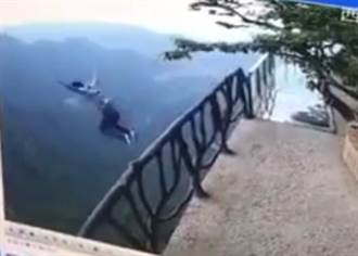 高考失利 18歲考生跳崖身亡 監視器全都錄